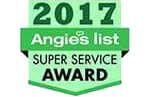 Angie's List 'Super Service Award'